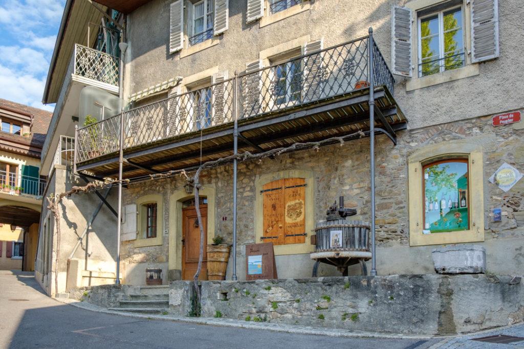 Maison de vigneron à St-Saphorin