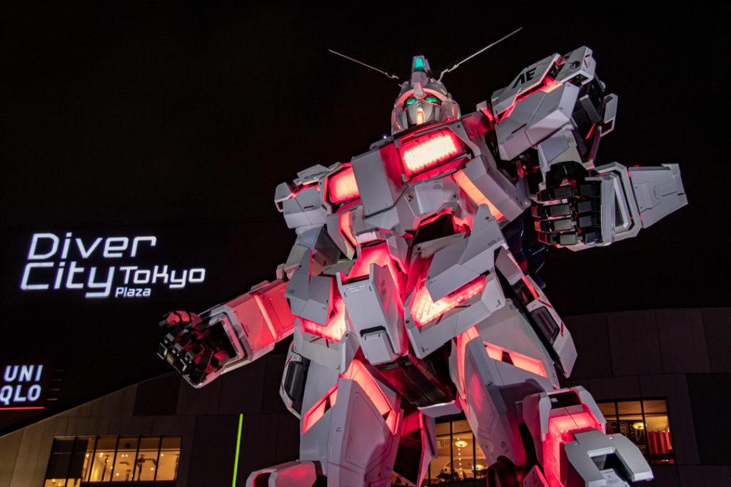 Gundam géant a Odaiba