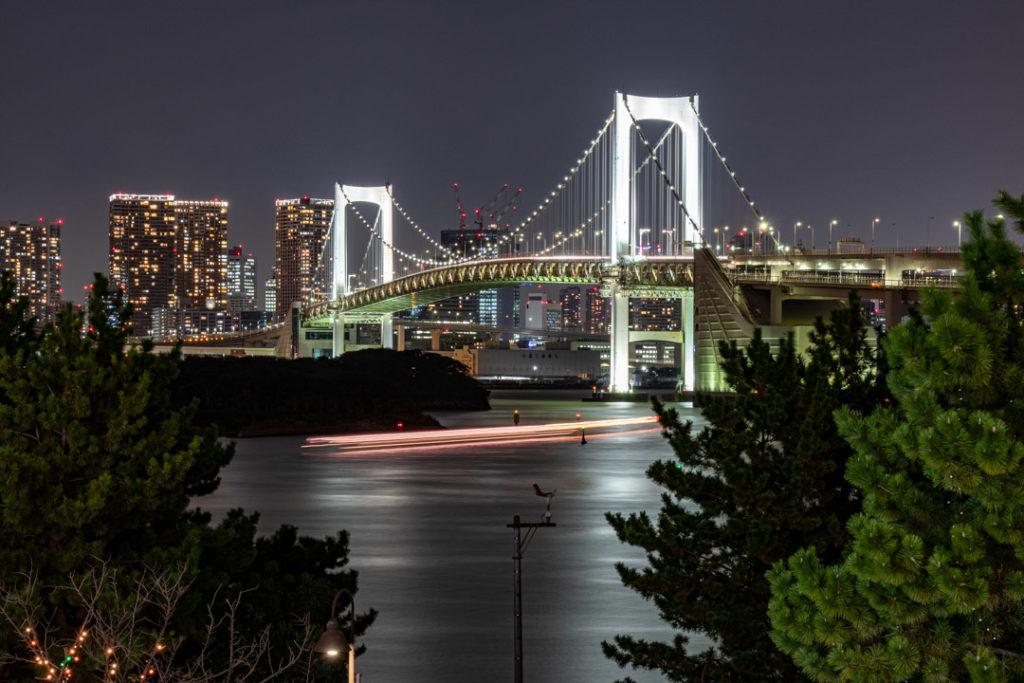 Vue du pont d'Odaiba