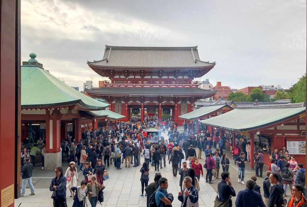 Senso-ji Temple à Tokyo