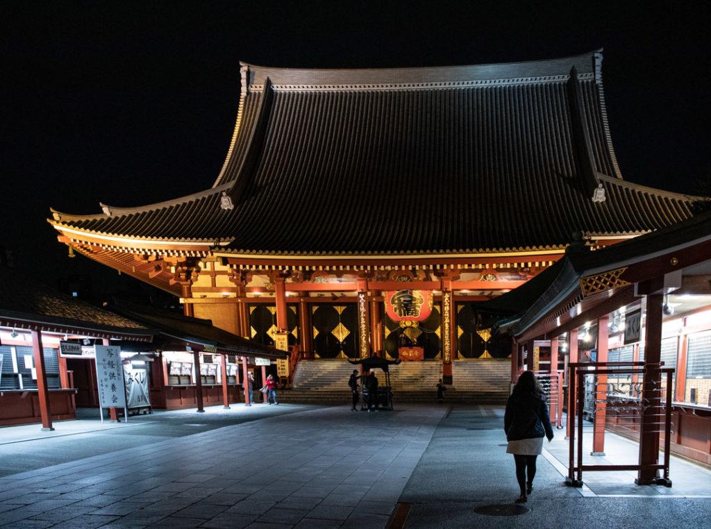 Senso-Ji de nuit