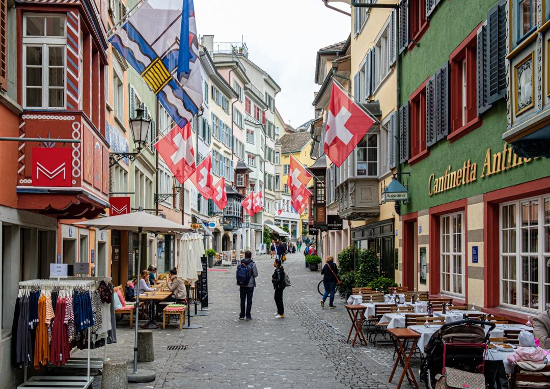 Augustinergasse à Zurich
