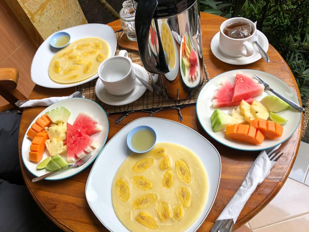 Petit déjeuner balinais