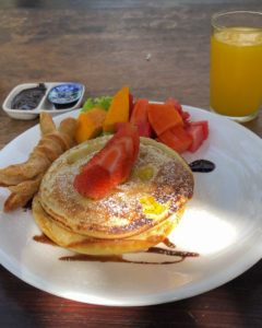 Pancakes à Bali