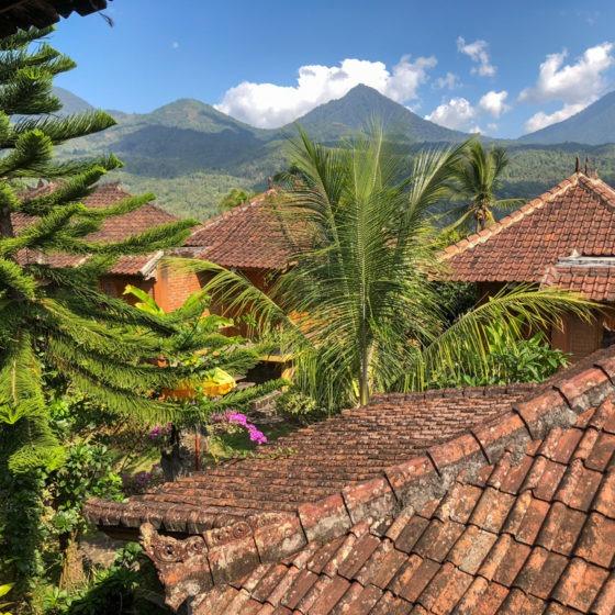 Les toits de Munduk Indonésie