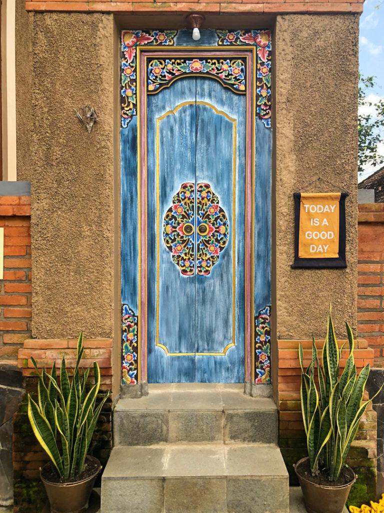 Porte balinaise à Ubud