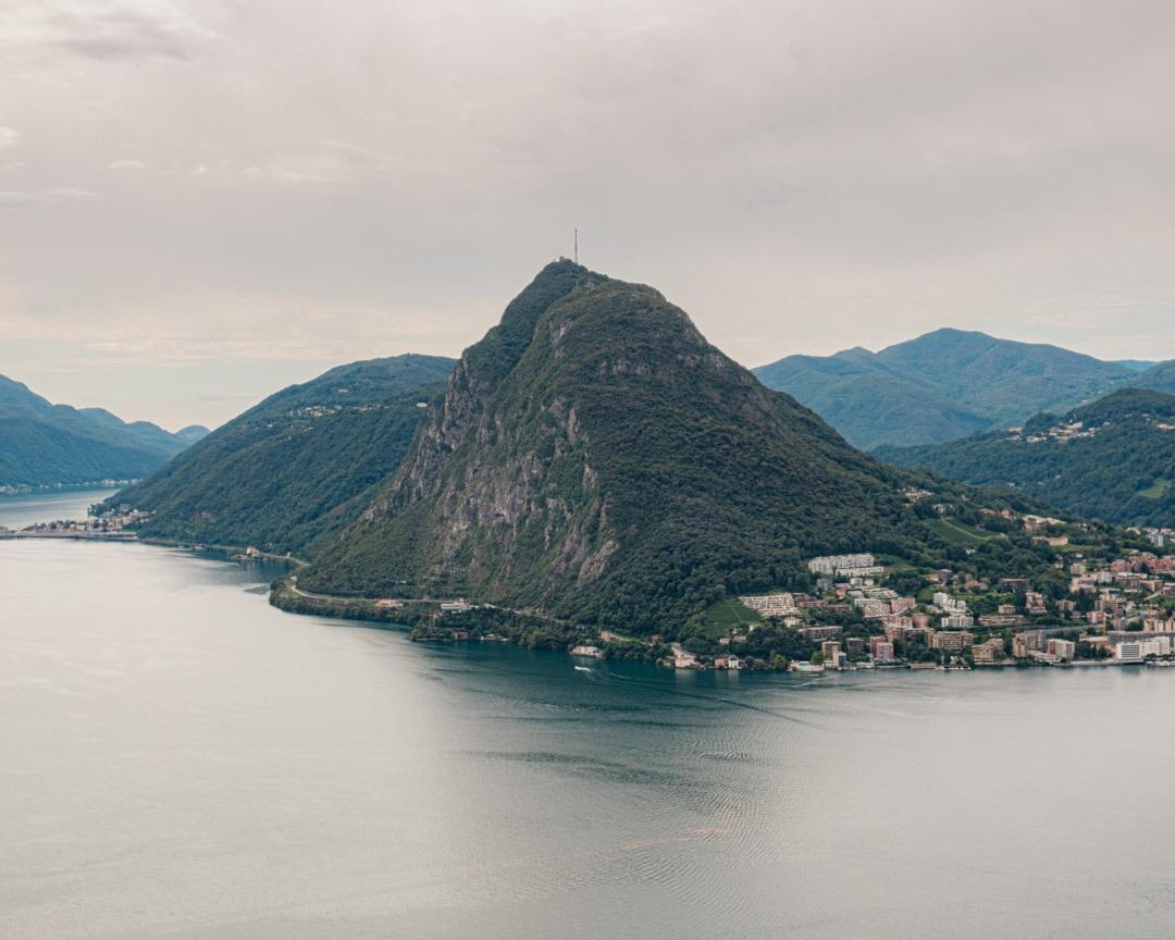 Le Monte Salvatore est le pain de sucre suisse