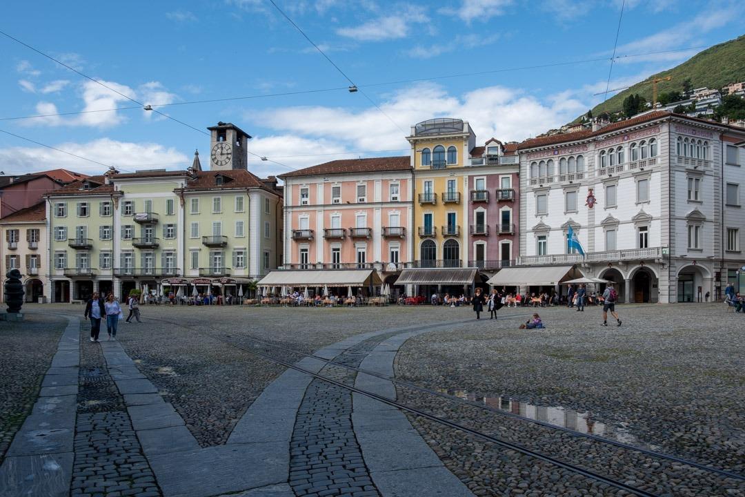 La Piazza Grande de Locarno