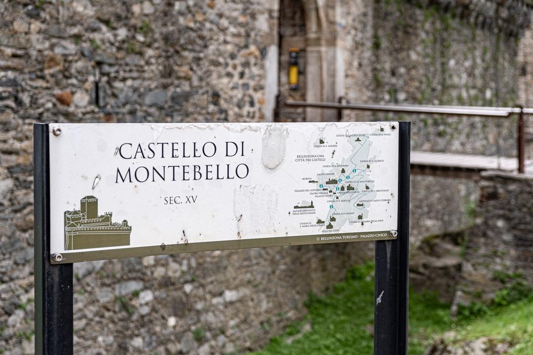 Le château de Montebello se trouve à Locarno au Tessin