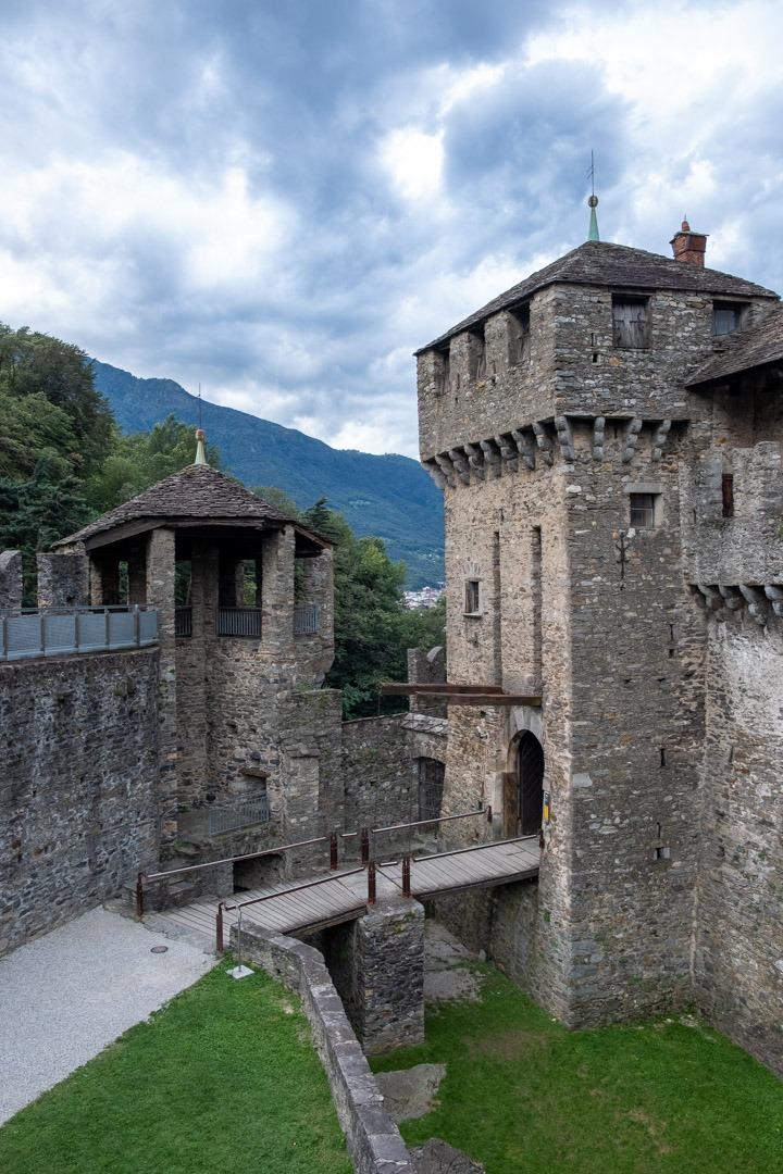 Le château de Montebello est aussi inscrit au patrimoine mondial de l'Unesco