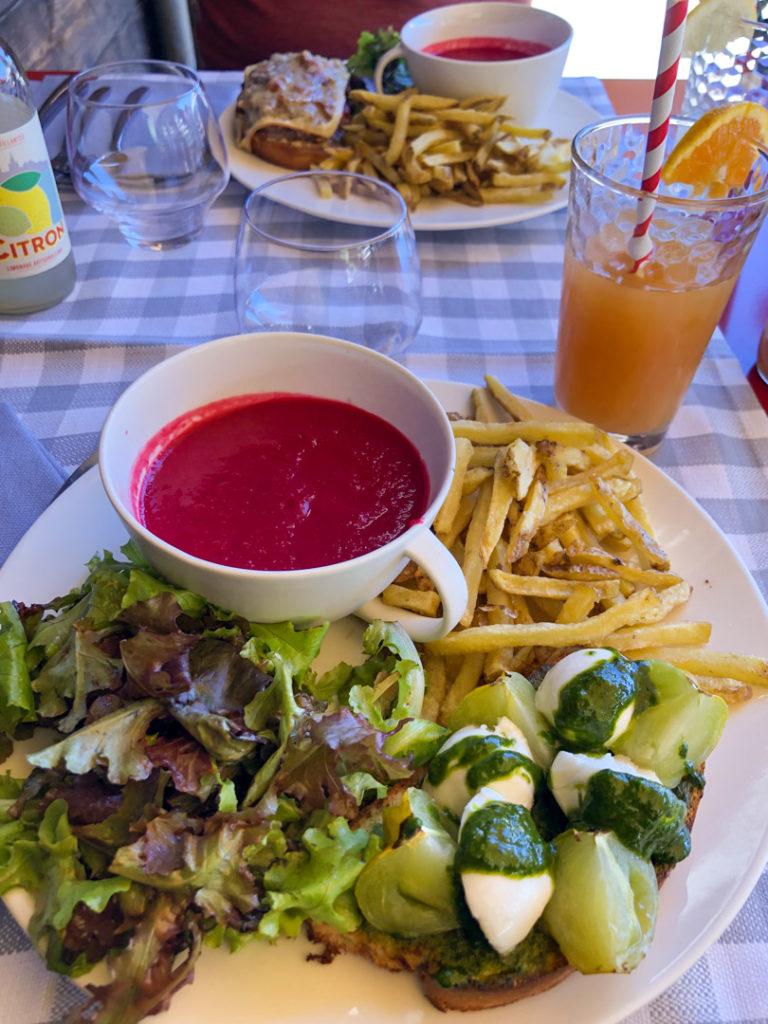 Ciabatta Tessinoise, Restaurant des Cerniers, Whitepod