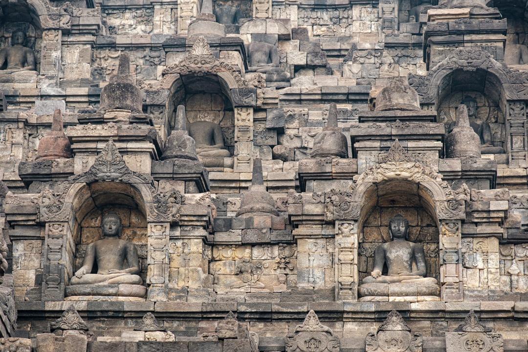 Les bas-reliefs du temple de Borobudur
