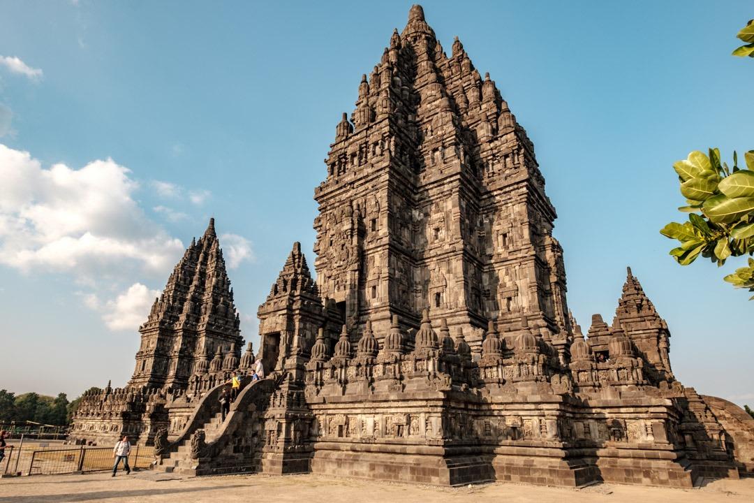 Le temple de Prambanan près de Yogyakarta