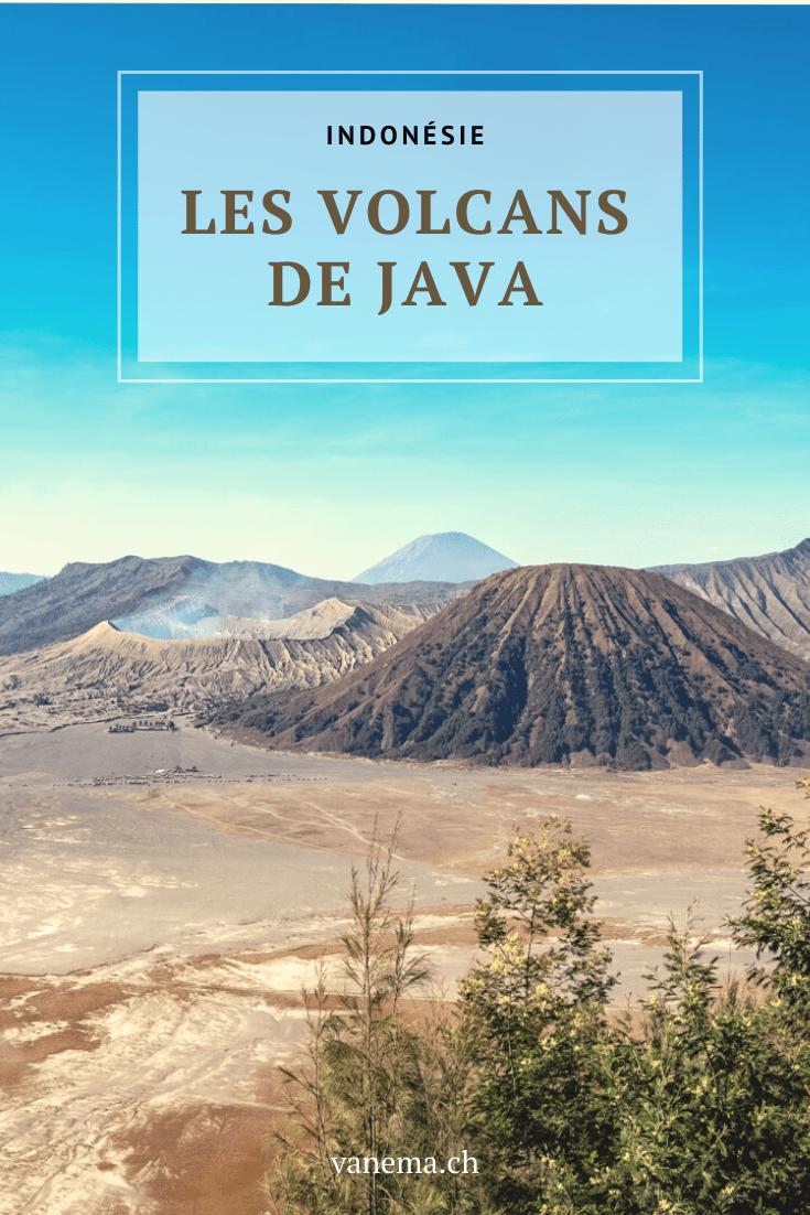 Excursion aux volcans de Java : Bromo et Kawah Ijen