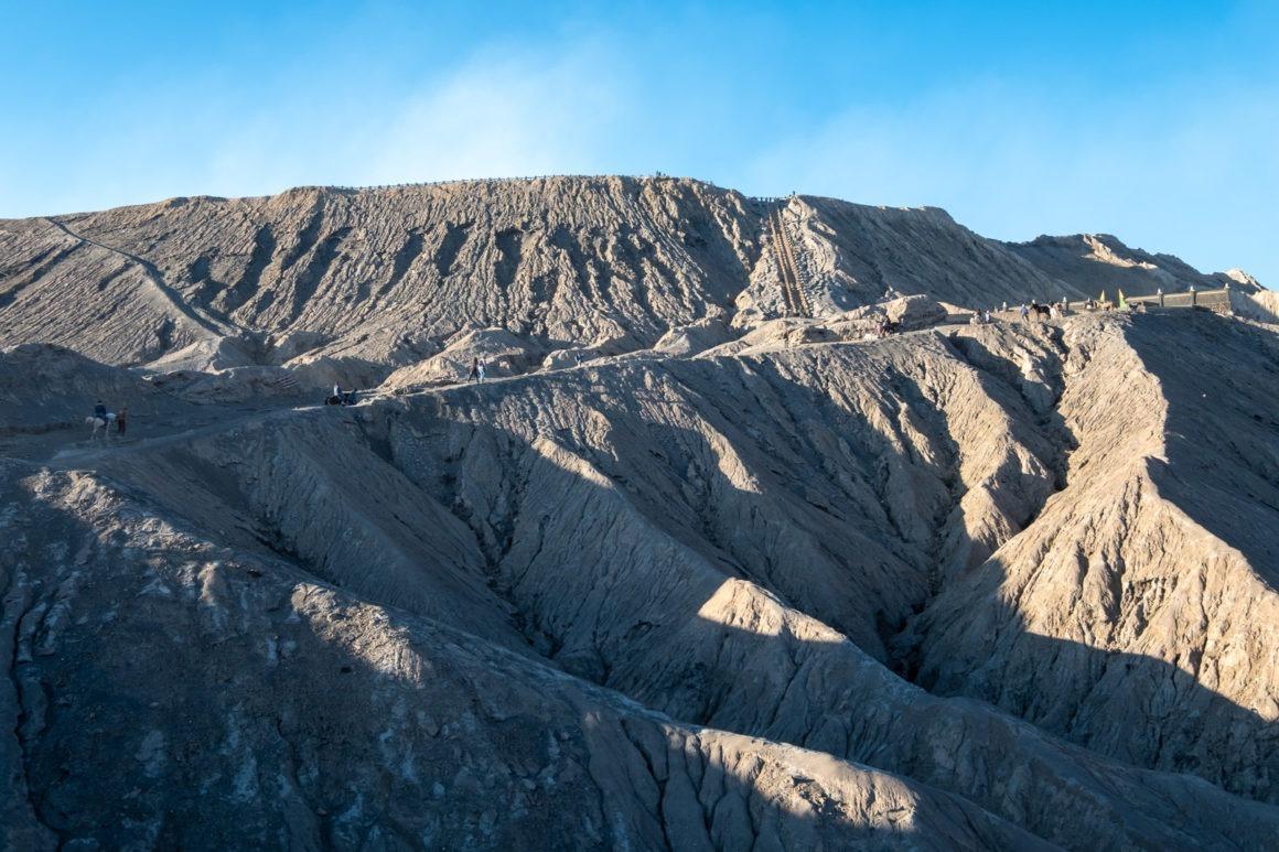 Vue du Bromo depuis sa base