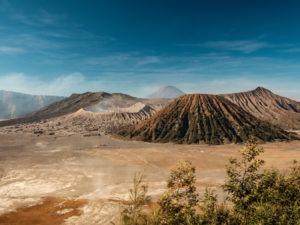 Vue sur le mont Bromo depuis un Viewpoint