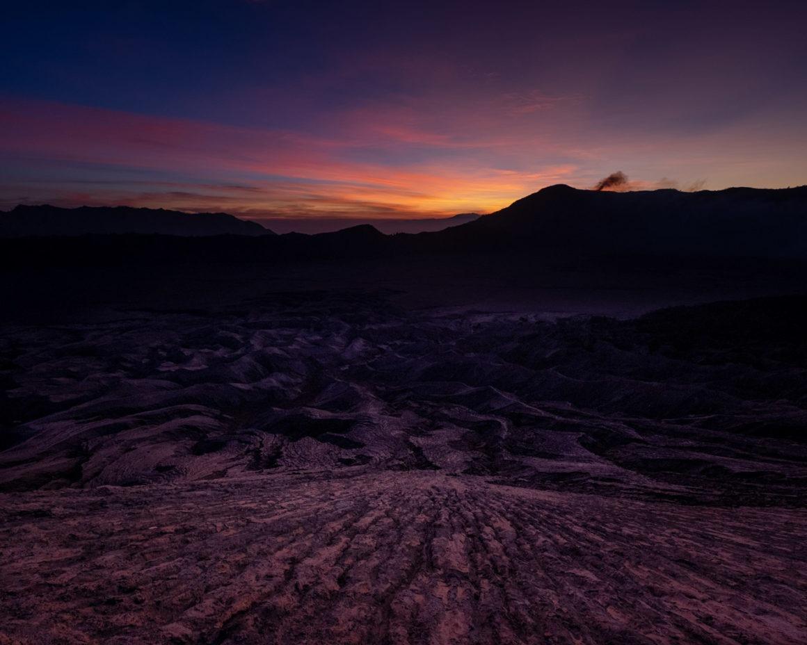 Lever du soleil depuis le Bromo
