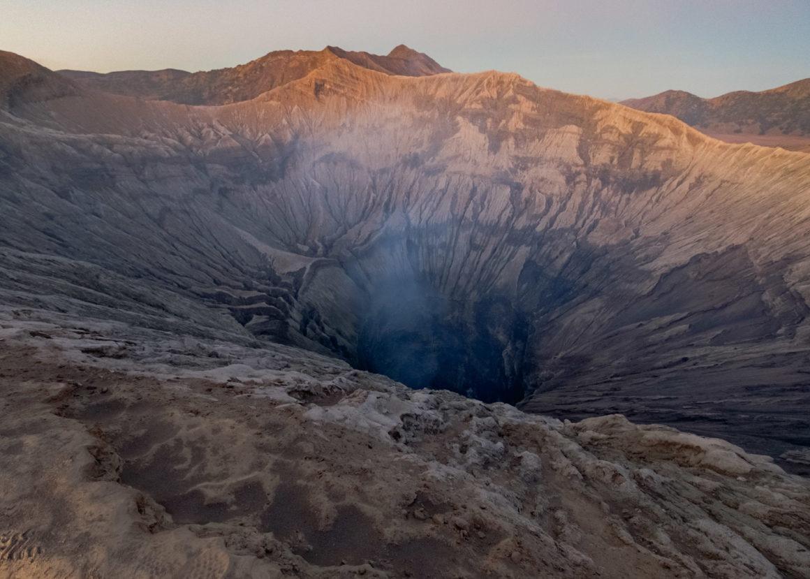 Vue du cratère du Bromo
