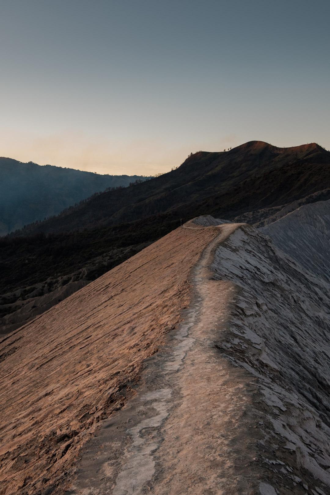 Vue depuis le Mont Bromo