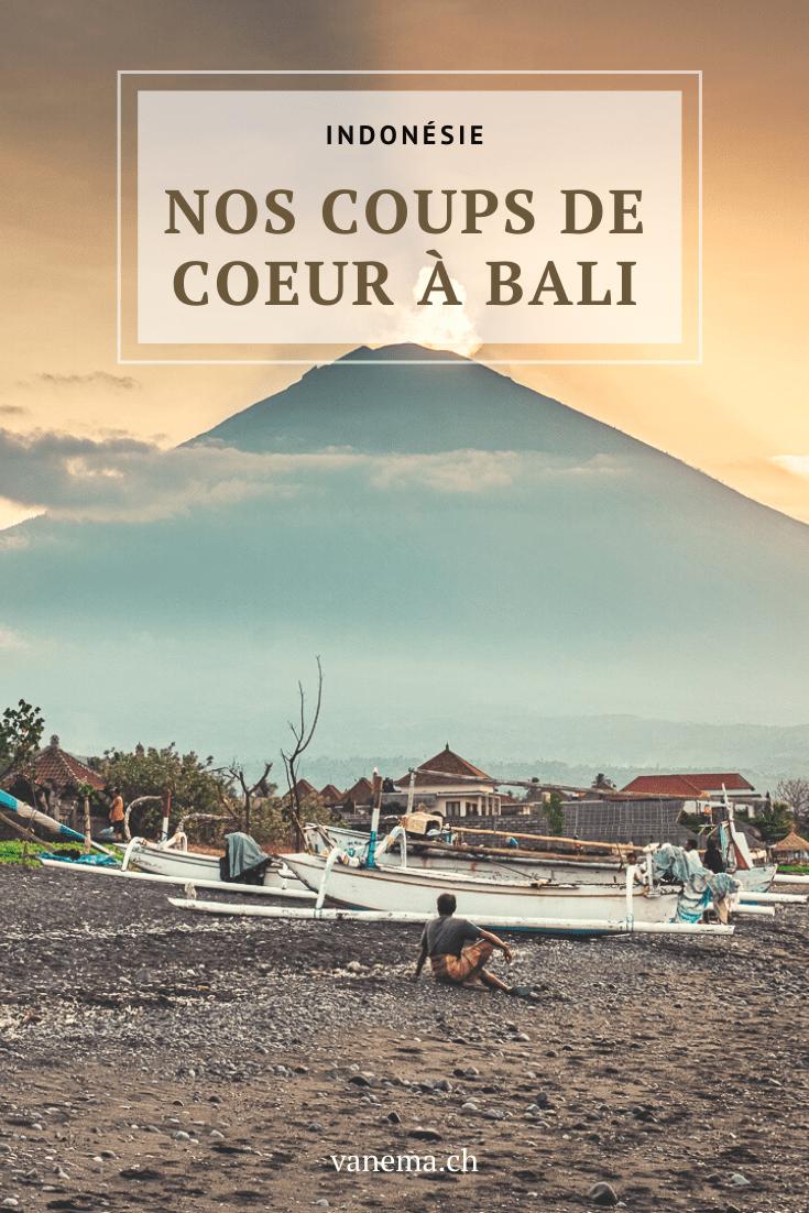 Nos 6 coups de coeur à Bali