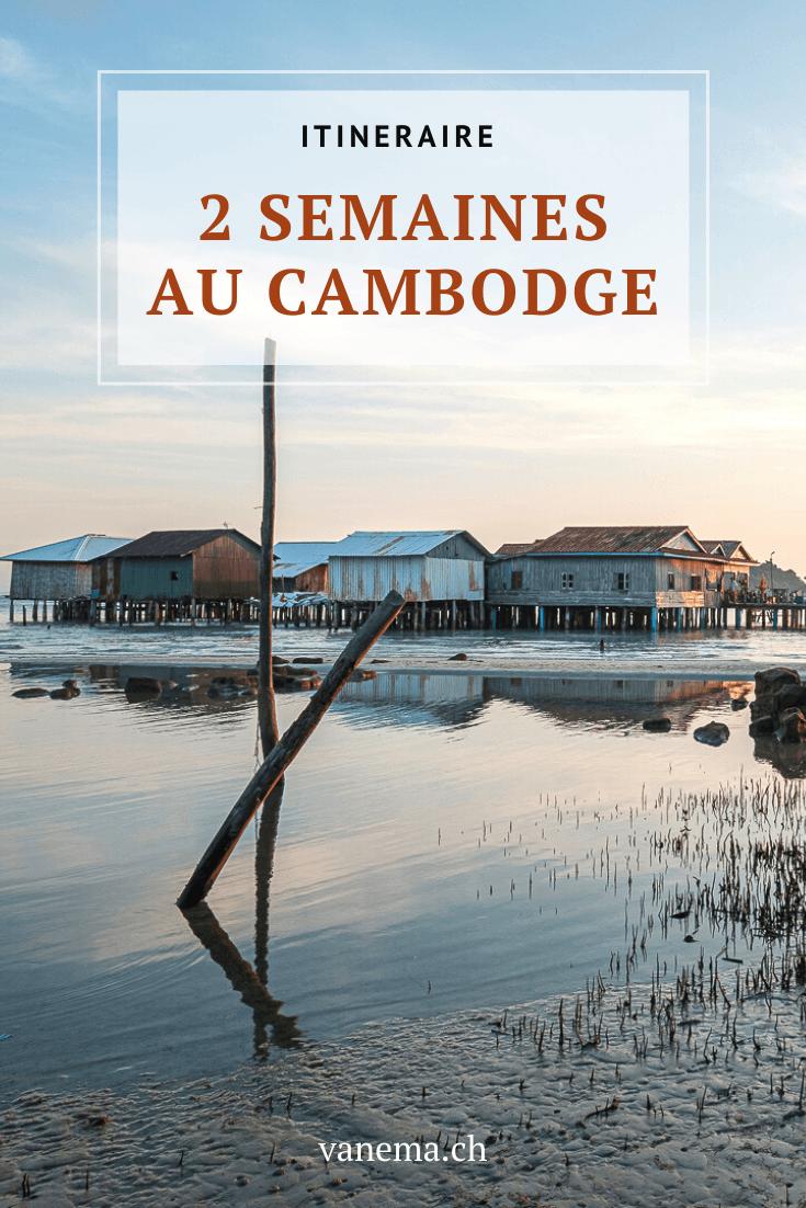 Notre itinéraire détaillé de deux semaines au Cambodge.