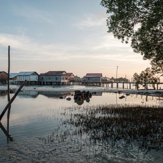 L'embarcadère menant à l'île de Koh Rong au Cambodge