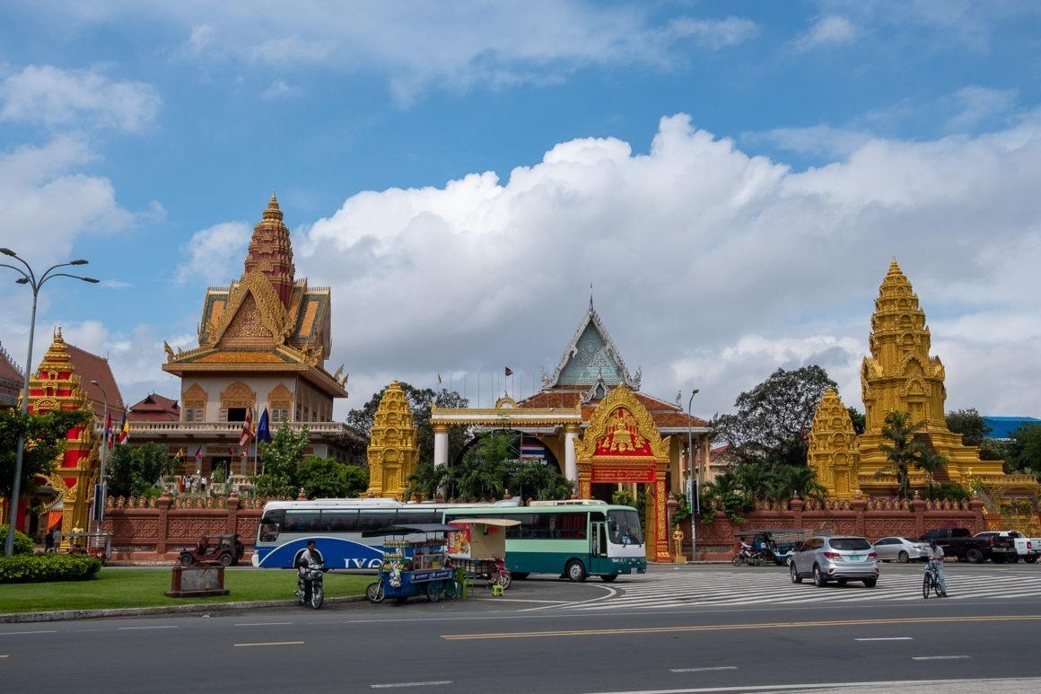 Le palais royal de Phnom Penh est la résidence du roi du Cambodge.