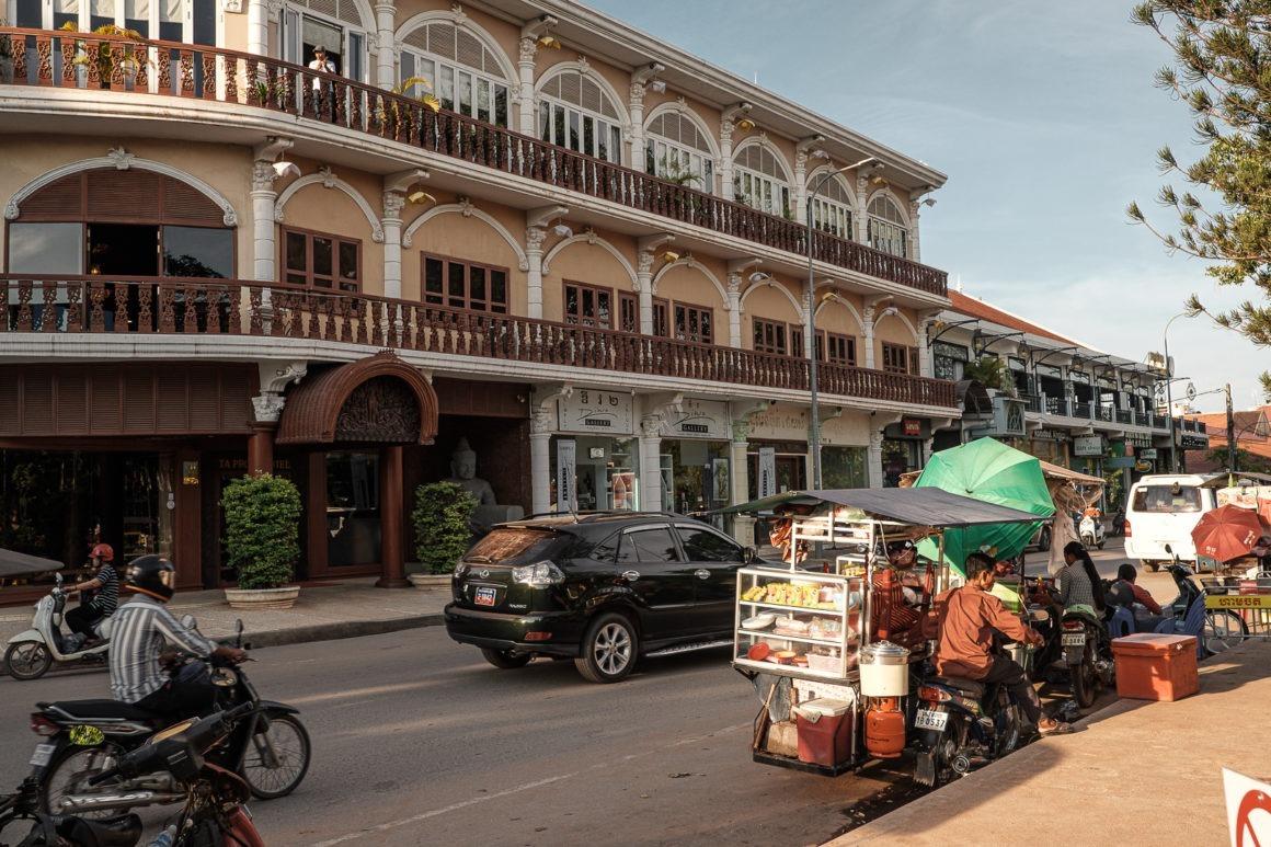 Siem Reap fait partie des incontournables lors d'un voyage au Cambodge.
