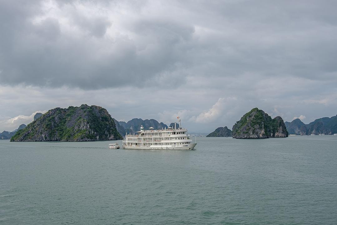 Croisière sur la baie d'Halong au Vietnam