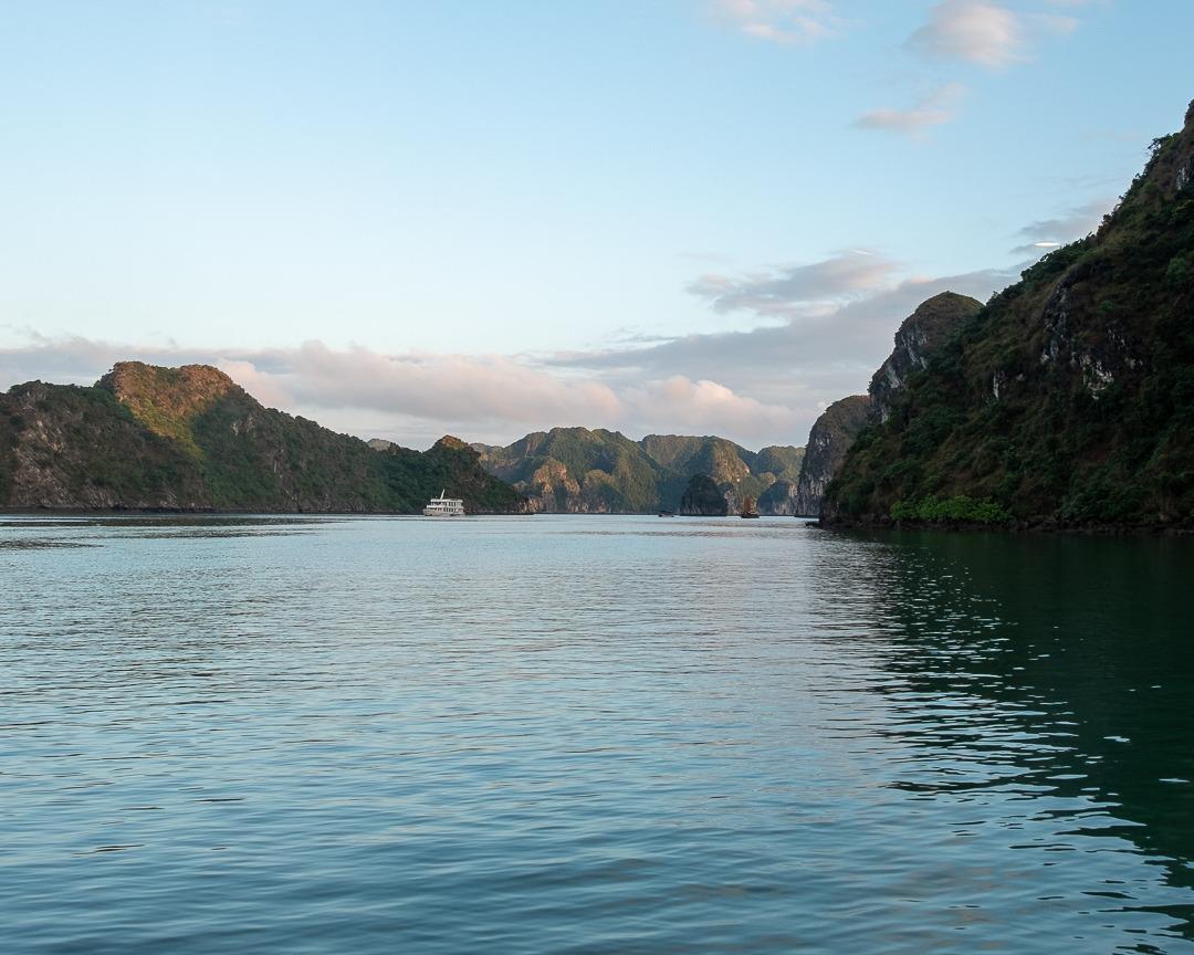 La baie de Lan Ha au Vietnam