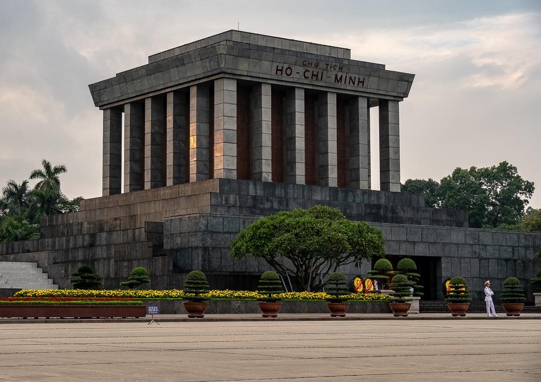 Le mausolée d'Ho-Chi-Minh à Hanoi