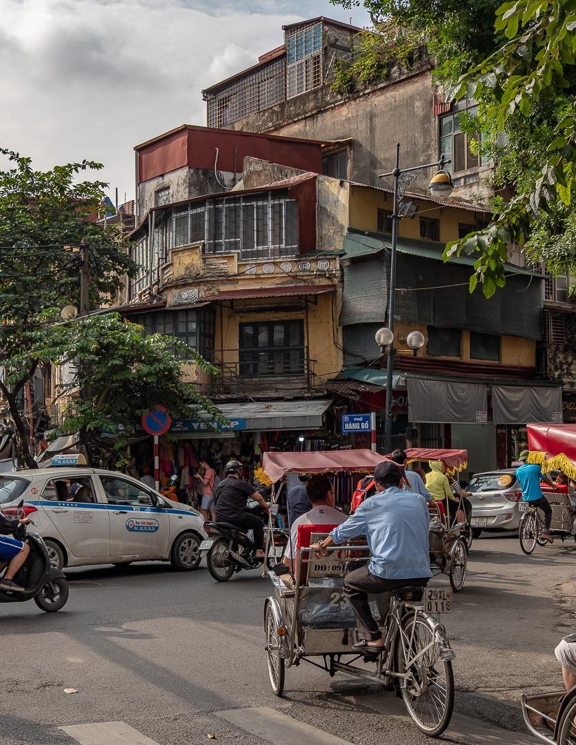 Les rues de Hanoi