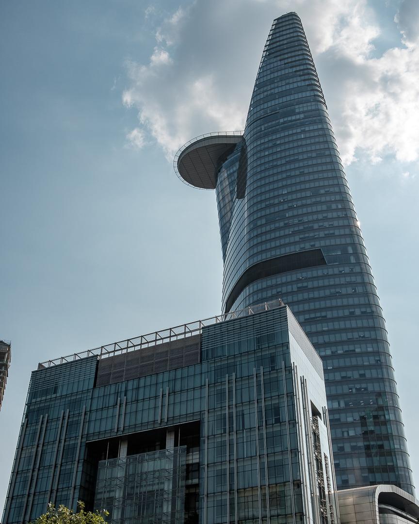 La tour financière Bitexco à Ho-Chi-Minh-Ville