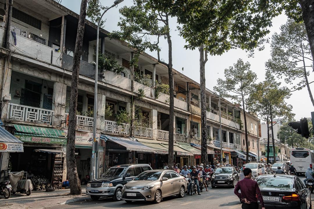 Les rues d'Ho-Chi-Minh