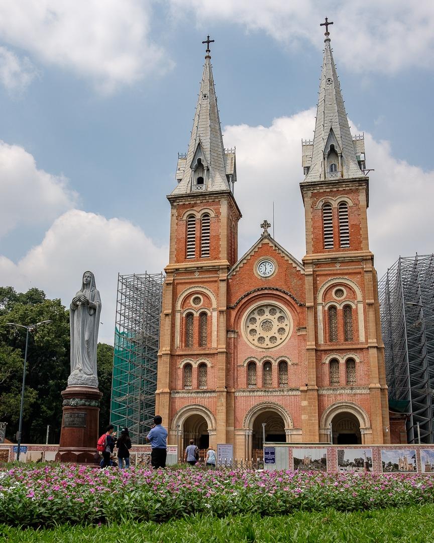 La Cathédrale Notre-Dame de Saïgon