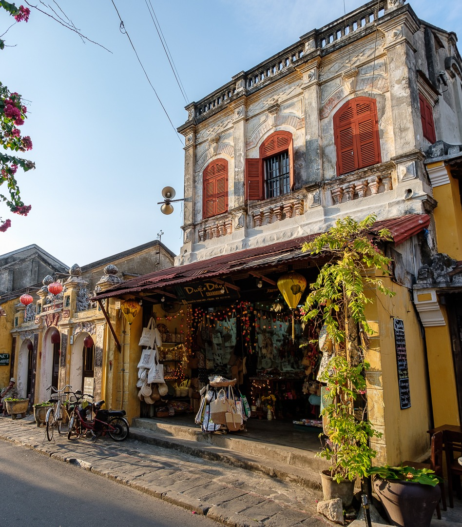 Boutiques de Hoi An au Vietnam
