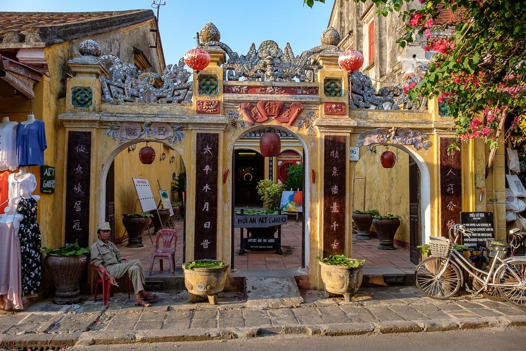 Ancien monument chinois à Hoi An