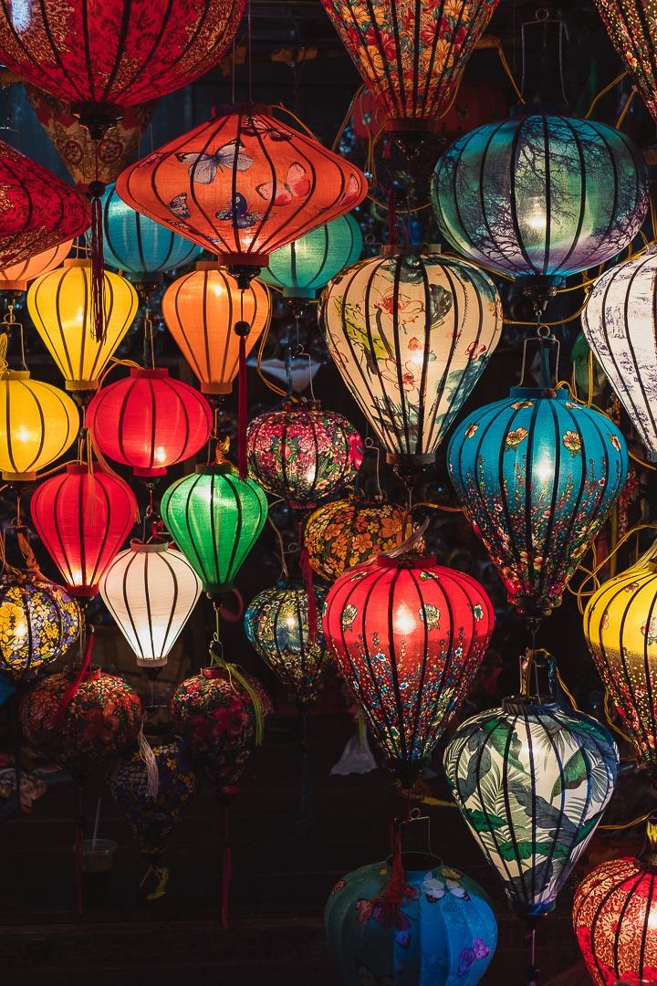 Les lanternes de Hoi An