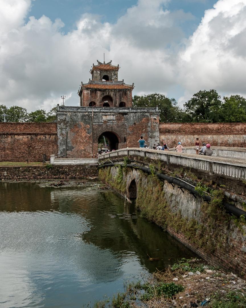 La citadelle de Hué au Vietnam