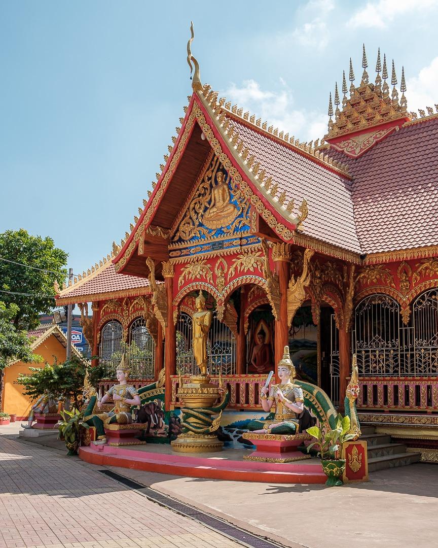 Temple Vat Simuong à Vientiane au Laos