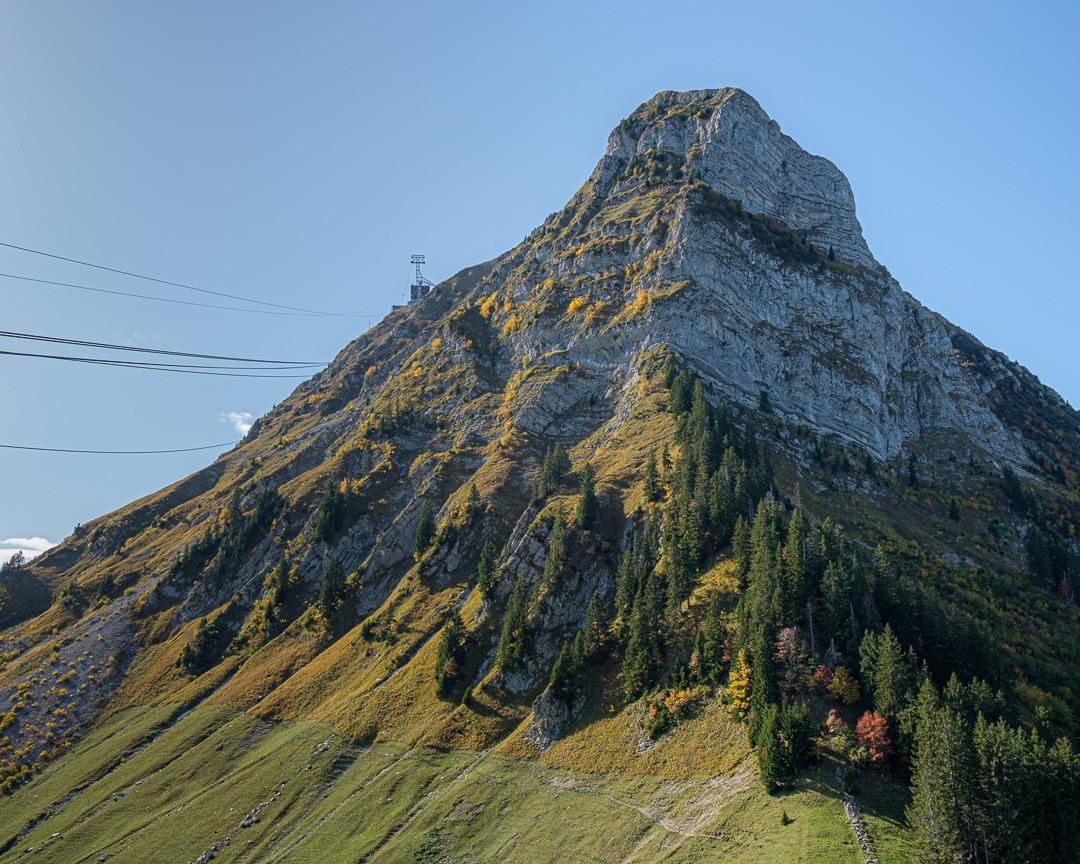 Le Moléson, la montagne emblématique des Fribourgeois.