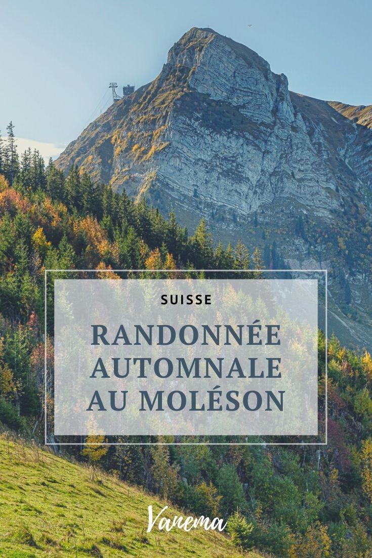 Randonnée au Moléson en Suisse.