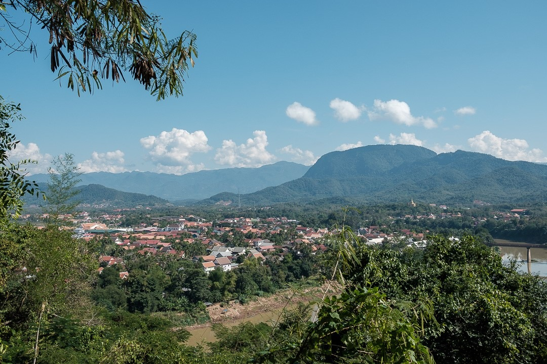 Depuis le sommet du Mont Phousi on profite d'une vue panoramique sur Luang Prabang et sa région.