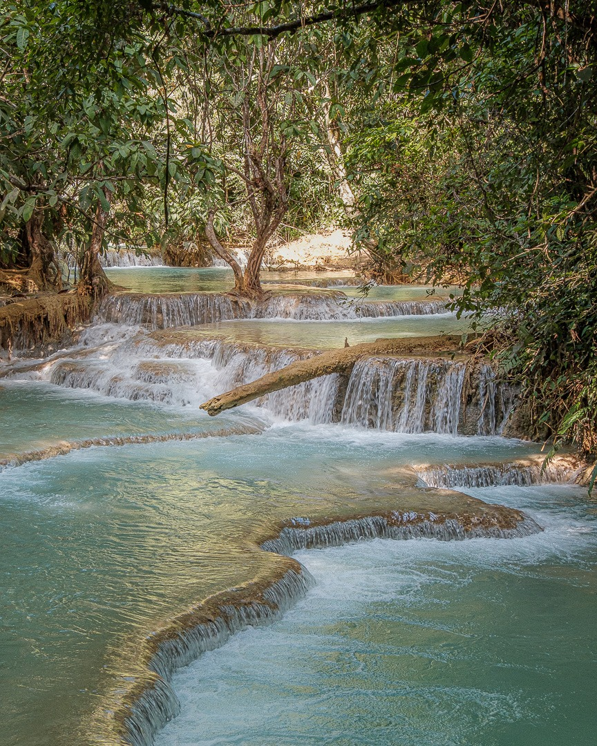 Kuang Si Fall et ses piscines naturelles