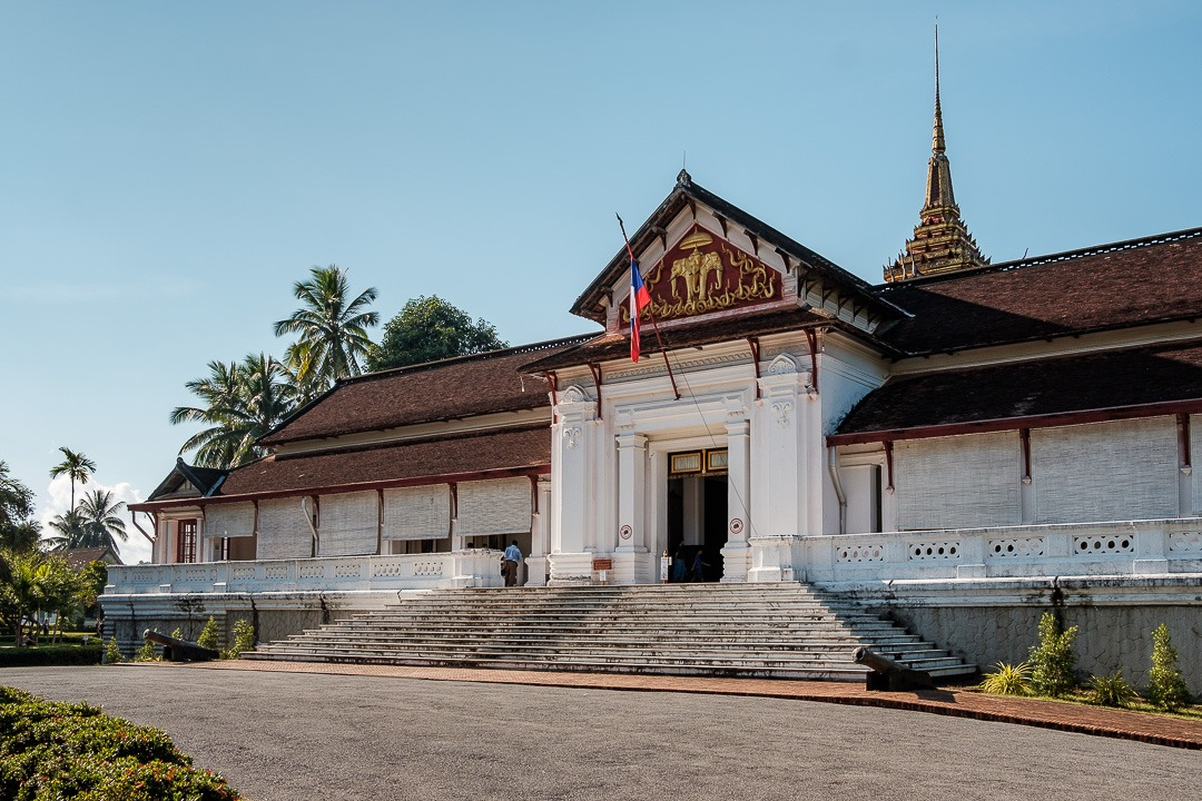 L'ancien Palais royal de Luang Prabang a été transformé en musée national.