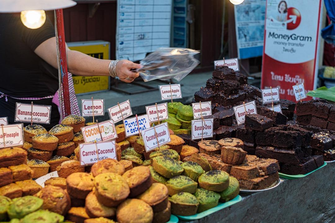 Luang Prabang garde encore des traces du protectorat français. L'une d'entre elles se retrouve dans la nourriture.